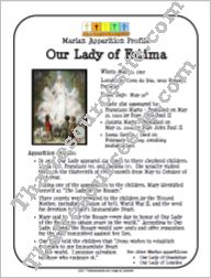 Our Lady of Fatima Marian Apparition Profile Sheet