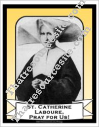 Poster of St. Catherine Laboure