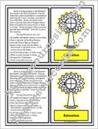 Adoration Learning Card