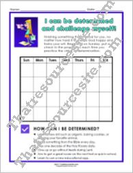 Virtue of Determination Chart Set