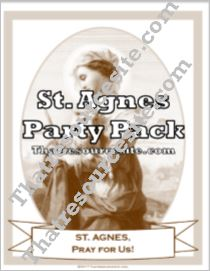 St. Agnes Saint Party Pack