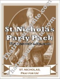 St. Nicholas Saint Party Pack
