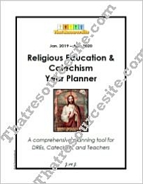 Religious Education & Catechism Year Planner (Jan.-Dec. Version)