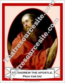 Poster of St. Andrew