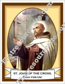 Poster of St. John of the Cross