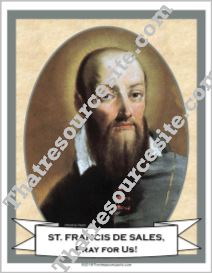 Poster of St. Francis de Sales