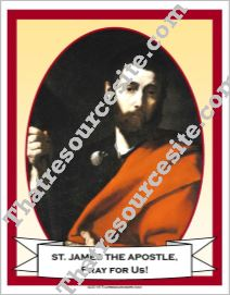 Poster of St. James the Apostle
