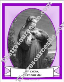 Poster of St. Lydia Purpuraria