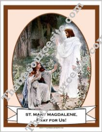 Poster of St. Mary Magdalene