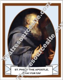 Poster of St. Philip the Apostle