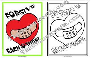 Forgive Each Other Poster Set