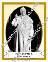 Poster of Pope St. Pius X