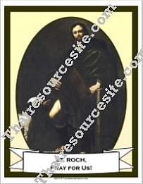 Poster of St. Roch
