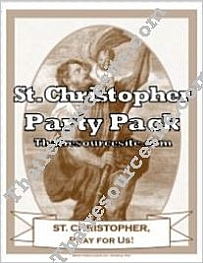 St. Christopher Saint Party Pack