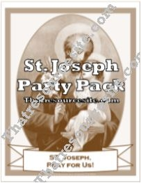 St. Joseph Saint Party Pack