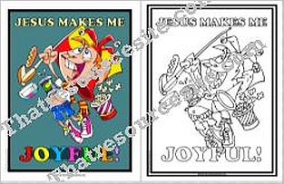 Jesus Makes Me Joyful Poster Set