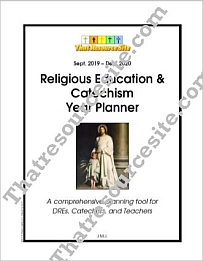 2019-2020 Religious Education & Catechism Year Planner