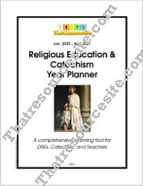Jan. 2020-Apr. 2021 Religious Education and CCD Year Planner