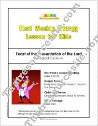 That Weekly Liturgy Lesson – Feast of the Presentation of the Lord (Cycle A)