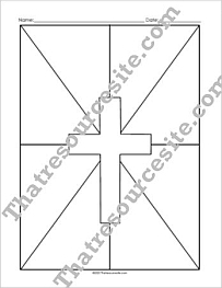 Cross Graphic Organizer Set