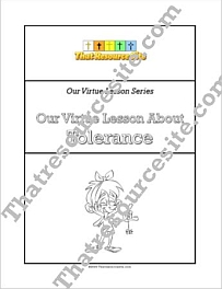 Our Virtue Lesson About Tolerance Unit Study