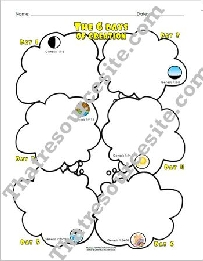 Six Days of Creation Graphic Organizer Set
