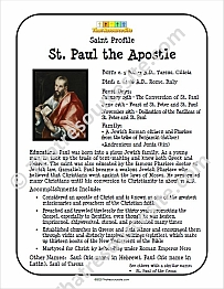 St. Paul Profile Sheet
