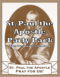 St. Paul the Apostle Saint Party Pack