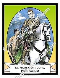 Poster of Saint Martin of Tours